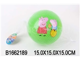 INFLATABLE BALL(PEPPA PIG)(6COLOUR)