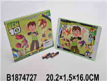 LEARNING LAPTOP W/BATTERY(ENGLISH) (BEN10)