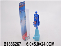 PULL LINE FLYING CAPTAIN AMERICA