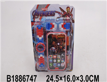 WATCH & MOBILE PHONE(THE AVENGERS)
