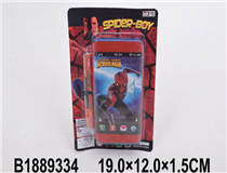 MOBILE PHONE W/2PCS BATTERY(SPIDERMAN)