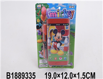 MOBILE PHONE W/2PCS BATTERY(MICKEY MOUSE)