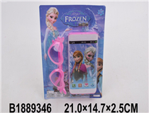 MOBILE PHONE W/GLASSES(FROZEN)