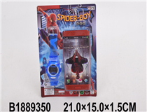 MOBILE PHONE W/WATCH(SPIDERMAN)