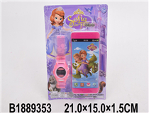 MOBILE PHONE W/WATCH