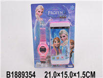 MOBILE PHONE W/WATCH(FROZEN)