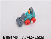 WIND-UP CONSTRUCTION CAR(4 MIX)