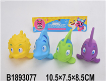 4PCS SOFT PLASTIC FISH