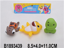 3PCS SOFT PLASTIC ANIMAL