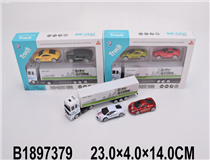 FREE WHEEL METAL CAR SET(3MIX)