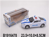 B/O POLICE CAR  W/LIGHT&SOUND