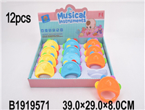 12PCS PADDLE DRUM