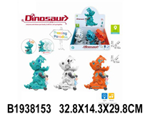 9PCS PRESSING ANIMAL W/MUSIC &LIGHT