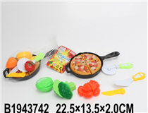 PIZZA&FRUIT PLAY SET(2 MIX)