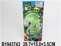 BEN10 WATCH W/LIGHT&MUSIC
