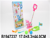 GOLF PLAY SET(2 COLOURS)