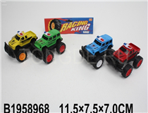 2PCS FRICTION POLICE CAR (RUSSIAN) (4COLOURS)