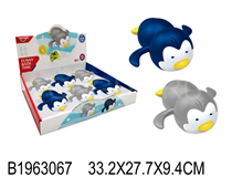 6PCS WIND-UP SWIMMING PENGUIN