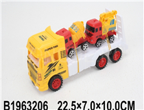 FRICTION TRUCK W/2PCSA CAR