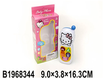 MOBILE PHONE W/MUSIC&LIGHT (HELLO KITTY)