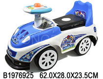 RIDE-ON CAR  W/MUSIC&LIGHT(THE SMURFS)