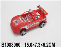 FRICTION POLICE CAR(3 COLOURS)