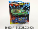 2IN1 PULL BACK CONTAINER CAR&TANKER(4COLOURS)