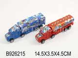 PULL BACK CONTAINER CAR&TANKER(THE SMURFS)