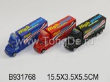 PULL BACK CONTAINER CAR(3COLOURS)