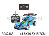 1:18 R/C RACING CAR W/CHARGER(4CH)(2COLOURS)