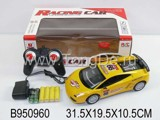 1:18 R/C CAR W/CHARGER(4CH)(2COLOURS)