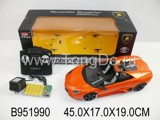 1:14 R/C CAR W/CHARGER&LIGHT(LICENSE)(4CH)